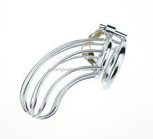 Penis ring penis cage sex toys Metal cock cage Male chastity lock chastity device