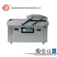 automatic double chamber food vacuum packing machine/vacuum sealing machine/vacuum sealer DZ-600/2SA