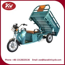 cheap large loading china cargo tricycle electric moped scooter for cargo