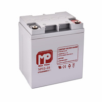 hot products 12v 24ah lead acid battery smf deep cycle battery