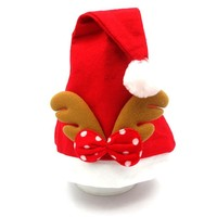 Christmas special children adults with the cap Santa Claus hat Antlers decoration cap