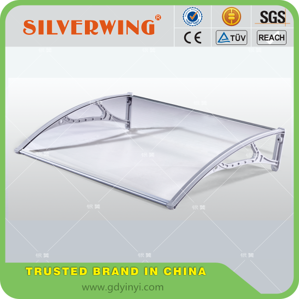 DIY europe style single door awning canopy for warehouse rain protection