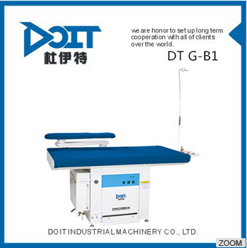 DT G-B1 High Quality vaccum iron table with build-in steam generator