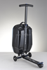 2015 well-sold multi-functional magical foldable scooter trolley luggage