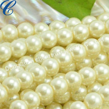 Hot New Products 2015 AAA Grade Plastic Pearl Beads Strands Wedding Decoration