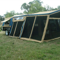 new design small tent trailer