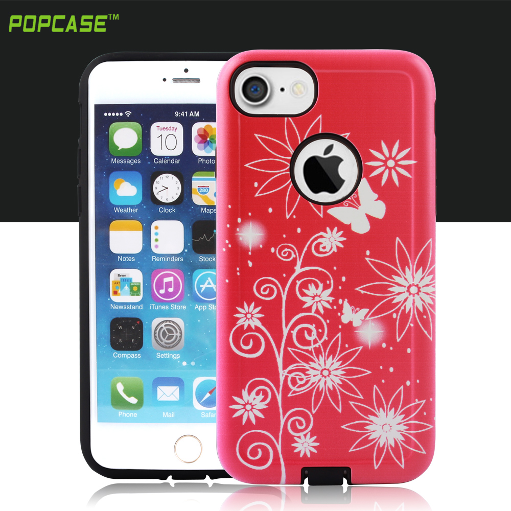 full protective PC TPU mobile phone case cover for iphone 7 case