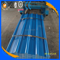High quality galvanized corrugated color coated iron sheet for roofing price, PPGI, PPGL