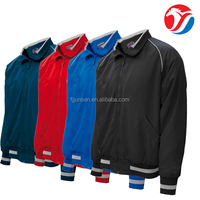 Top quality windproof football training sports track jacket for men