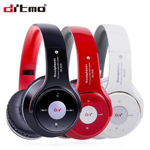 Custom high- quality wireless bluetooth foldable headphones