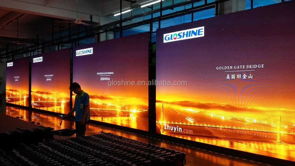 Flexible LED Video Wall / Indoor LED Screen to Display Video for Stage, TV Studio,advertising