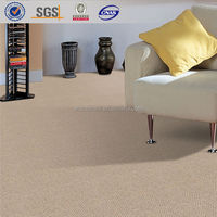 loop pile plain commercial carpet, wall to wall mode designs carpet with a small amount of wool