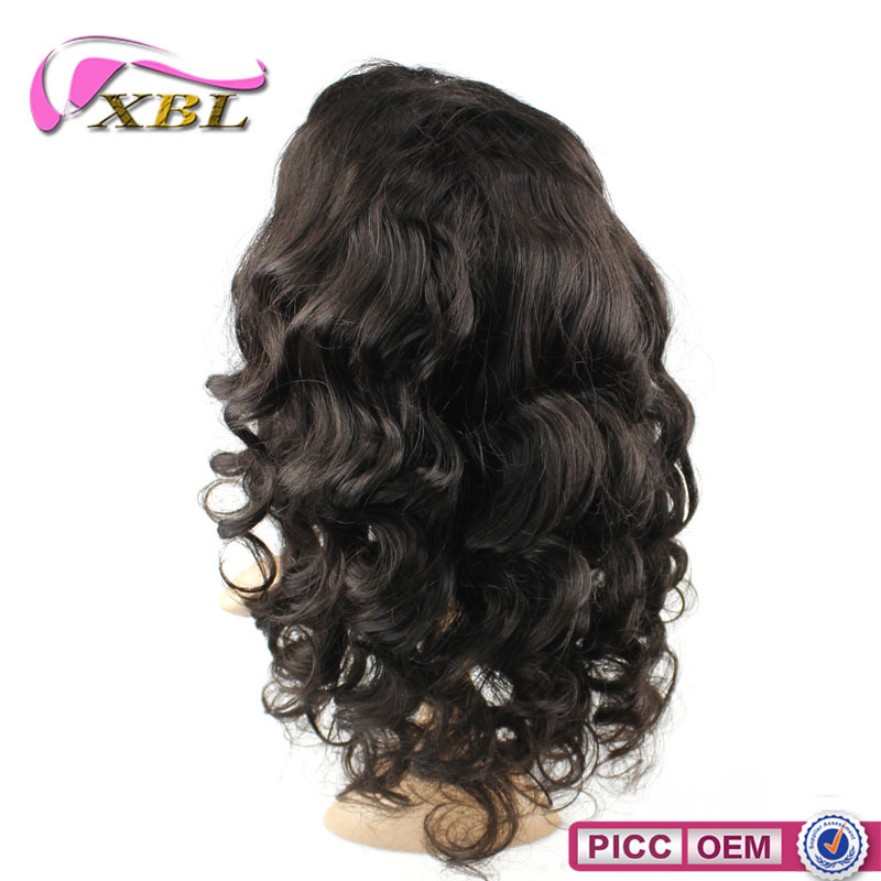 2016 New Hot Sale Fast Shipping 100% Brazilian Human Hair Wig Natural Style