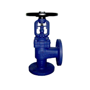 Casting hand wheel right angle globe valve