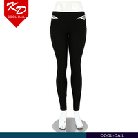 wholesale high quality black pants skin tight fashion design ladies' slimming pants