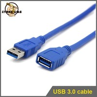high speed two sided usb 3.0 extension cable for external hdd