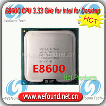 Original for Intel Core2 DUO E8600 Processor 3.33 GHz /6MB Cache/Socket LGA 775 / Desktop E8600 CPU
