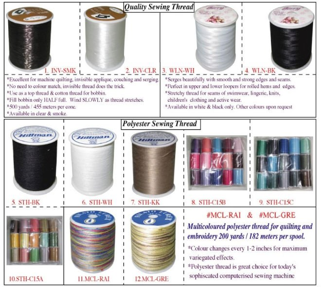 Quality Sewing Thread
