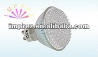 GU10 3w 48leds 2700k 3000k warm white spot lamp led
