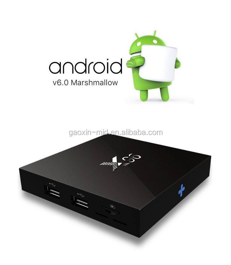 X96 Android TV Box, amlogic S905X android 6.0 marshmallow tv box, KODI xbmc smart tv box android