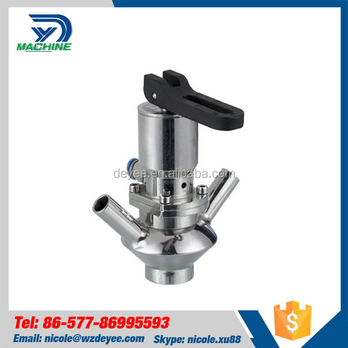 Stainless Steel Sanitary Aseptic Sampling Valve