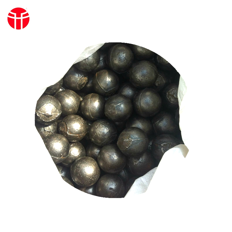 Custom cast iron forged steel grinding balls for chemical industry