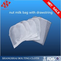 nylon mesh nut milk filter bag, juice, liquid filter