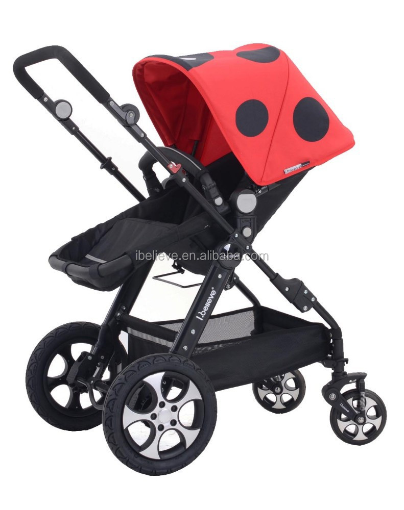 New Design cute yellow bee canopy baby car stroller for baby with EN1888:2013