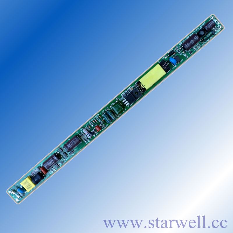 PE252A2024 90-140V ac input UL approved 240ma led tube driver with trailing edge / leading edge dimming function