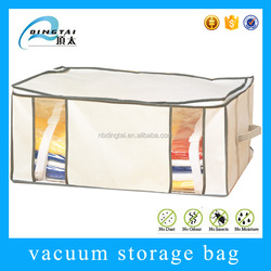 Waterproof wholesale clothes storage vacuum non woven packaging bag