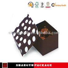 cupcake box packaging ,2013 new product paper cupcake box.