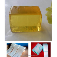 HM PSA hot melt adhesive glue for removable label
