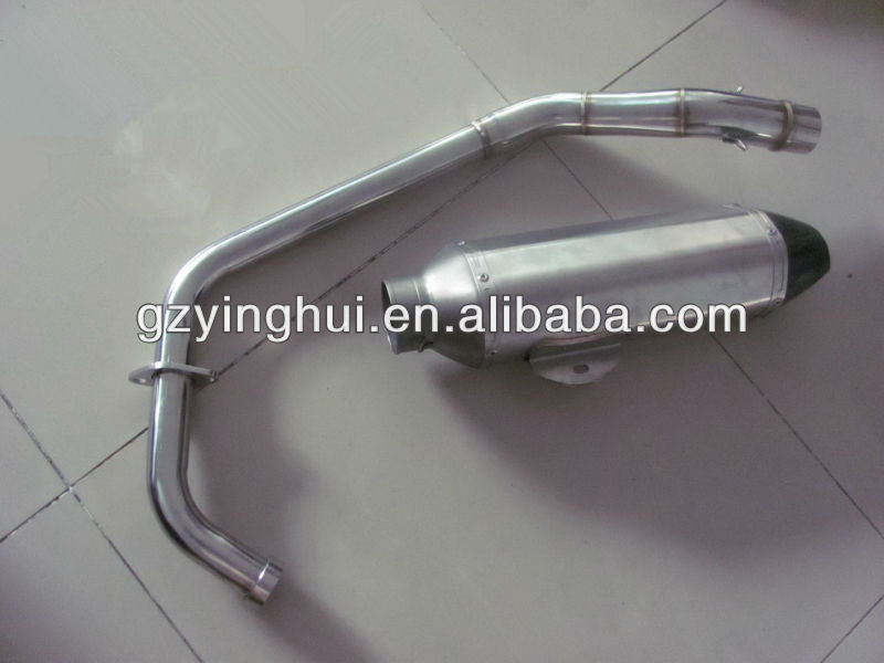 Exhaust pipe for CBR250