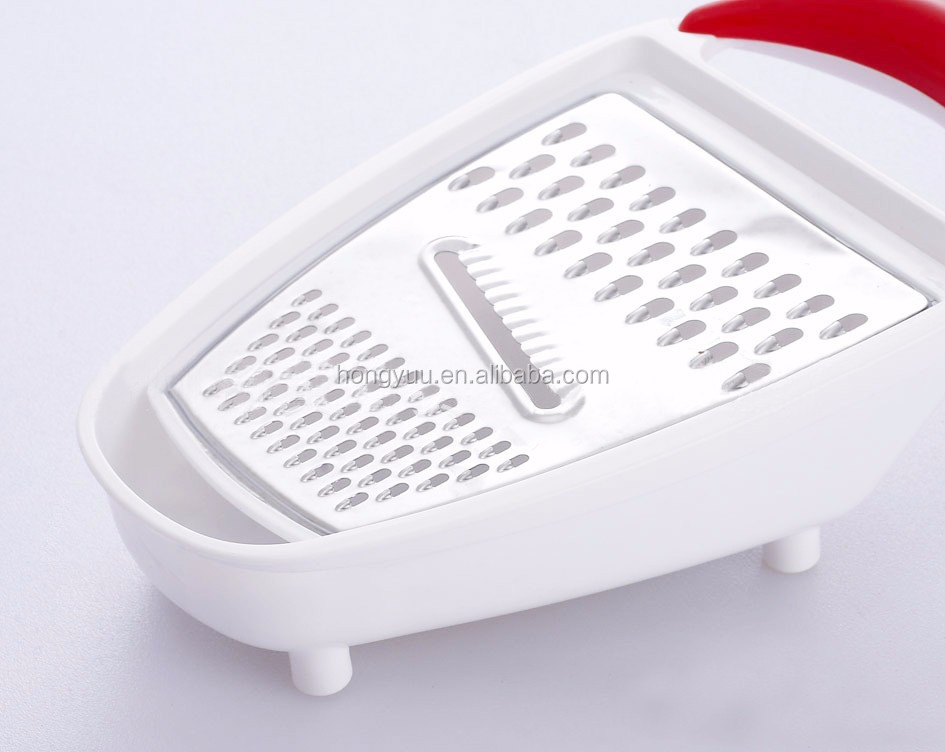 Stainless steel Kitchen tools Vegetable and salad planing grater/manual vegetable plane grater