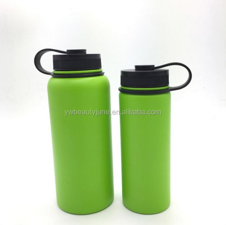 2017 hot new products hydro flask/stainless steel water bottle/insulated water bottle sports 18oz,32oz,40oz,64oz