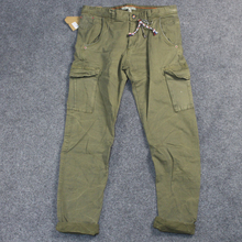 Best Selling cheap mens Green military army six pocket chino pants custom motocross hiking mens cargo pants