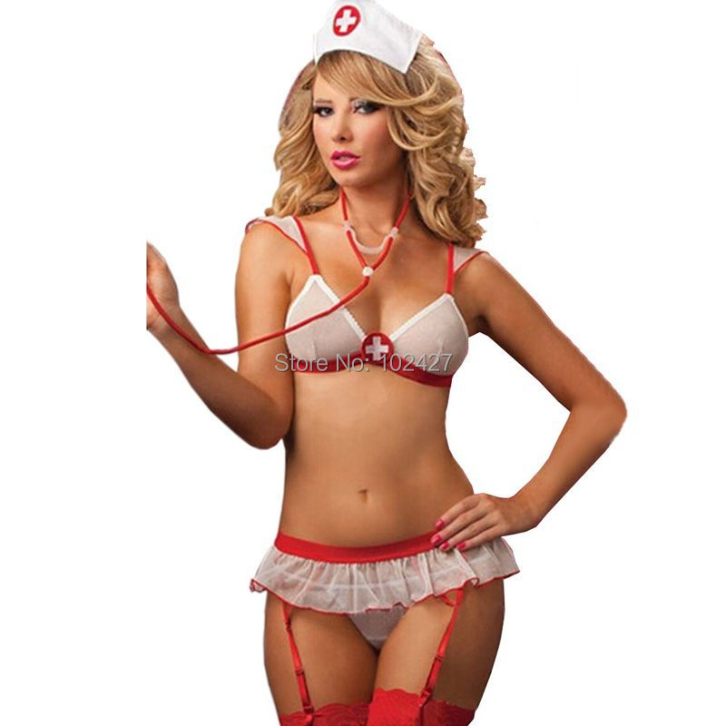 ce89d532814 Get Quotations · Women s Cosplay Naughty Nurse Uniforms Sexy Costumes  Exotic Apparel Sexy Nurse Costumes High Quality