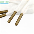 CREDIT OCEAN custom log metal aglet for drawstring cord