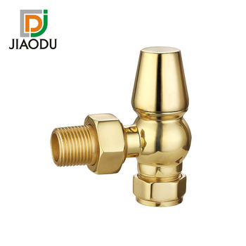211S-J Brass Paished Chrome Thermostatic Radiator Valve