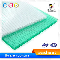 polycarbonate skylight roofing plastic sheet ,pc roofing sheet, building skylight sheet
