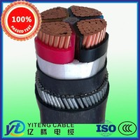 XLPE Insulated Thin Steel Wire Armoured PE Sheathed Power Cable