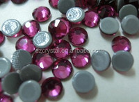 high quality hofix rhinestone with flat back for costume