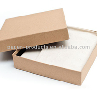 Plain Craft Paper Gift Box For