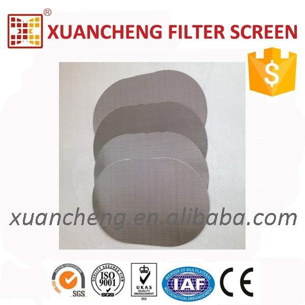 XPS Foamed Material Recycling using stainless steel fine mesh strainer