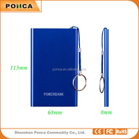 Power Bank, 5000mAh Ultra-slim Power Bank, 3 Times for iPhone 5S, USB Port 2.1a 1a External Mobile Battery Charger Pack