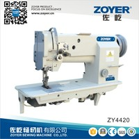 ZY4420 Double Needle Heavy Leather Shoes Industrial Sewing Machine