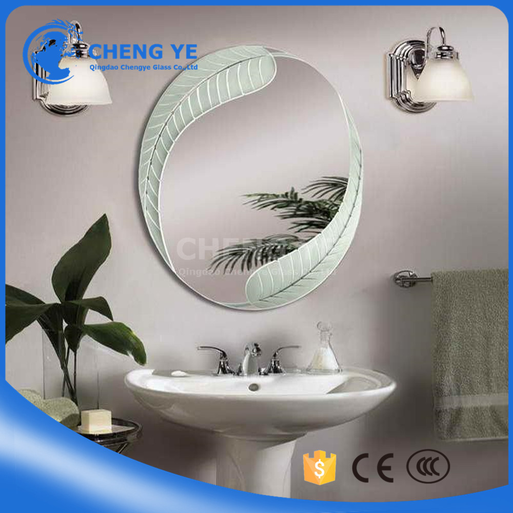 Thin 3mm 1.5mm Sunroom Silver Aluminium Mirror Glass For Construction
