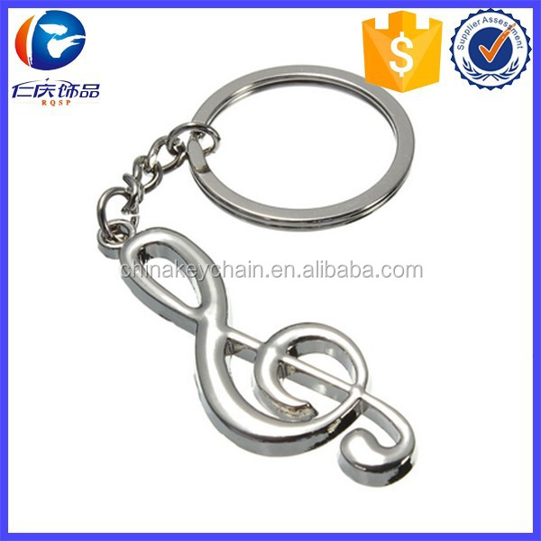 Sweet Music note couple keychain in alibaba with <strong>metal</strong>