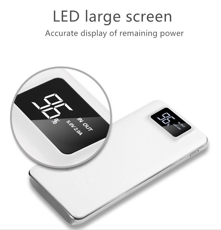 New power bank charging treasure LCD screen power bank 10000 mAhcharger portable fast chargingPromotional <strong>gift</strong>