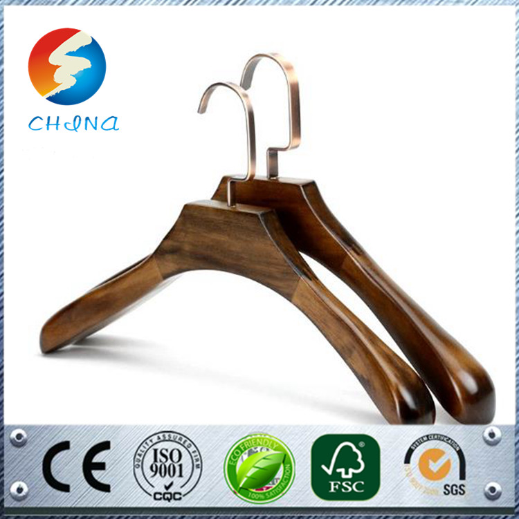 Brand new used machines elegant coat wooden hangerbranded wood hanger focked display hanger shopping on alibaba website